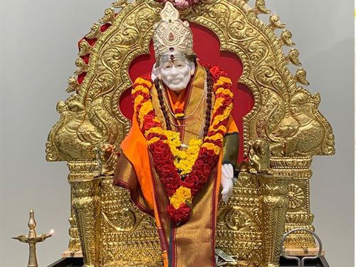 Thursday at 11.30 am Saibaba Abhishekam